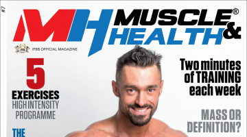 "Don't miss! New issue from ""Muscle and Health"" Magazine"