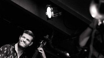 "Paraskevas Kitsos Trio: ""In between the eyes"" Late Night Jazz Sessions 5 @ Afrikana Jazz Bar 