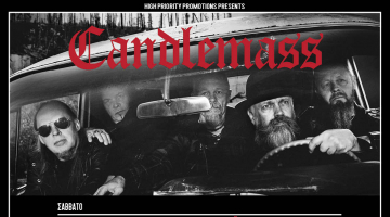 Candlemass: The Door to Doom @ Fuzz Club | Σάββατο 23 Νοεμβρίου