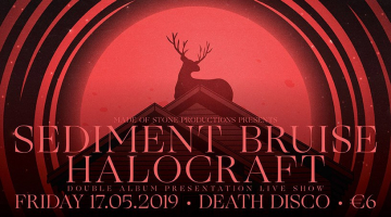 "Sediment Bruise live album presentation ""In-Between"" @ Death Disco  Παρασκευή 16 Μαΐου"