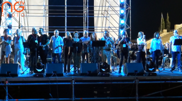 Video: Πλάνα από τη γενική πρόβα της συναυλίας – αφιερώματος στον Μίκη Θεοδωράκη, στο Καλλιμάρμαρο