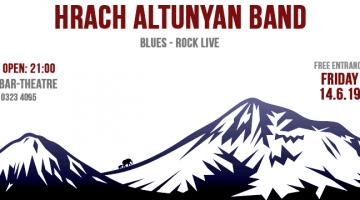 Οι Hrach Altunyan Band μετά από αρκετό καιρό επιστρέφουν στο  Faust!