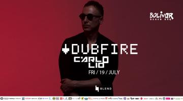O κορυφαίος techno Dj Dubfire | Παρασκευή 19 Ιουλίου | Bolivar Beach Bar