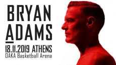 Ο Bryan Adams έρχεται στην Αθήνα | 18 Νοεμβρίου