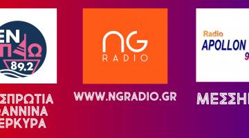 Ο NGradio και στα FM! | Οι αναμεταδόσεις και οι σταθμοί.