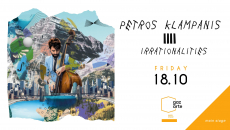ΠΕΤΡΟΣ ΚΛΑΜΠΑΝΗΣ   Irrationalities live & παρουσίαση νέου άλμπουμ   18 Οκτωβρίου στο GAZARTE