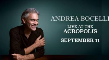 Στον απόηχο της συναυλίας του Andrea Boccelli στις 11 Σεπτεμβρίου 2019  στο Ηρώδειο, η οποία έγινε sold out με το που ανακοινώθηκε!