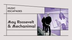 May Roosevelt & Mechanimal Live 12/09 Music Escapades  @ΚΠΙΣΝ