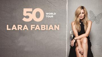 Lara Fabian 50 World Tour 2019 | Πέμπτη 12 Δεκεμβρίου 2019 | Κλειστό Γήπεδο ΟΑΚΑ