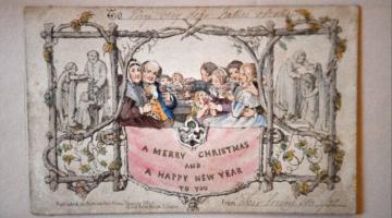 Η πρώτη, παγκοσμίως, έντυπη χριστουγεννιάτικη κάρτα