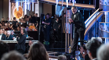 Golden Globes: What you didn't see on TV, from Joaquin's F-bombs to Jen Aniston's train