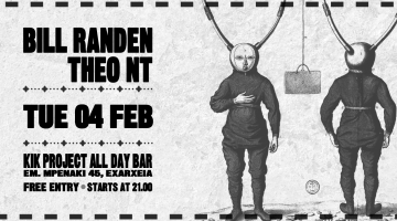 Bill Randen & Theo Nt live @ Kik Project All Day Bar