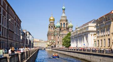 Περί της Αγίας Πετρούπολης