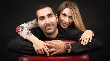 Ο Ζαχαρίας Καρούνης και η Σαββέρια Μαργιολά στη μουσική σκηνή Σφίγγα
