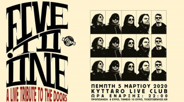 FIVE TO ONE: A Live Tribute στους The Doors | Κύτταρο