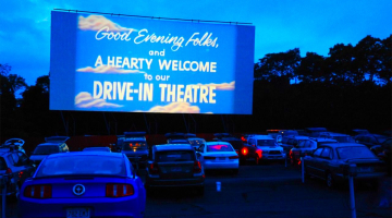 A pop-up drive-in movie theater is coming to Patriot Place