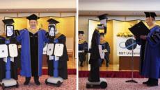 Εικονική αποφοίτηση με χρήση ρομπότ