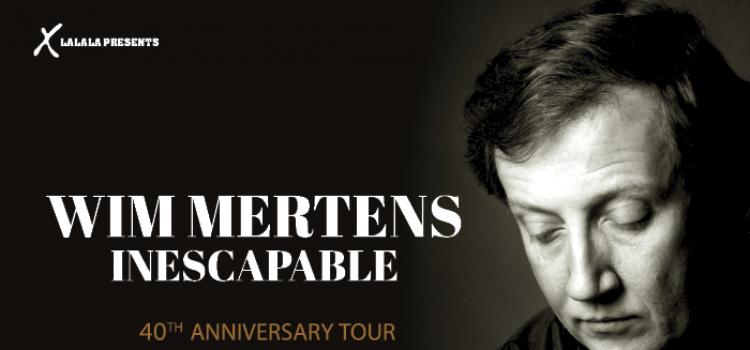 Ο Wim Mertens γιορτάζει την 40η επέτειό του στην Τεχνόπολη | Σάββατο 19 Σεπτεμβρίου
