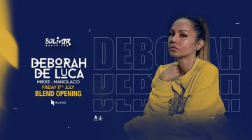 H Deborah De Luca σρο Bolivar | Παρασκευή 17 Ιουλίου