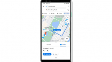 Google Maps now shows cycling routes using docked bike-sharing schemes
