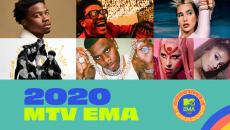 Δείτε τις υποψηφιότητες των MTV EMA 2020