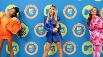 Δείτε τους νικητές των MTV EMA 2020