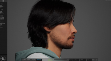 Epic's new MetaHuman tool lets you craft realistic faces inside a browser