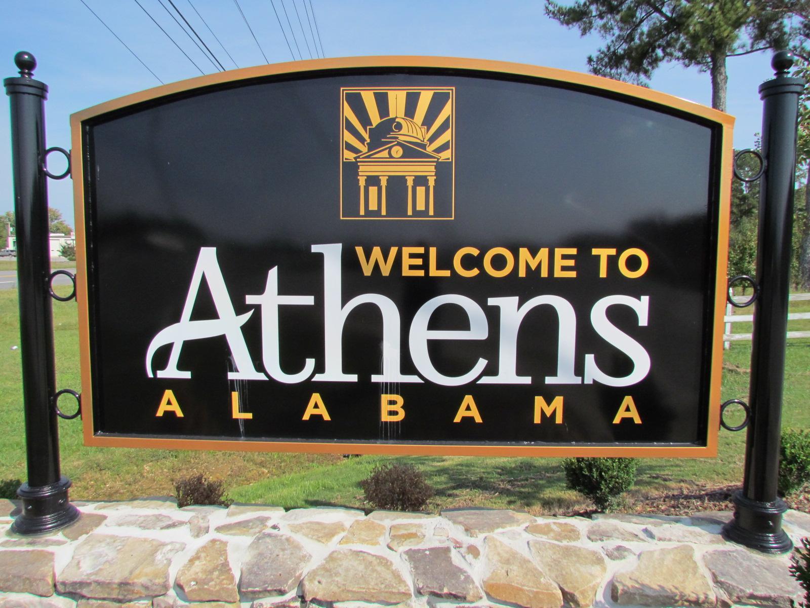 Athen sign