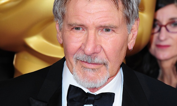 "File photo dated 02/03/14 of Harrison Ford who become a lifelong member of a Shropshire flying club. PRESS ASSOCIATION Photo. Issue date: Wednesday October 15, 2014. The Hollywood actor called the Shropshire Aero Club ""out of the blue"" while filming the latest Star Wars film. Harrison, who is an avid pilot and owns 11 planes, asked to rent an aircraft while working in the area on JJ Abrams' Star Wars Episode VII. See PA story SHOWBIZ Ford. Photo credit should read: Ian West/PA Wire"
