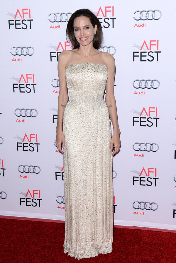 attends the AFI FEST 2015 opening Night Gala Premiere of Universal Pictures By The Sea at the TCL Chinese Theatre on November 15, 2015 in Los Angeles, CA, USA. Photo by Lionel Hahn/ABACAPRESS.COM   522856_033 Los Angeles Etats-Unis United States