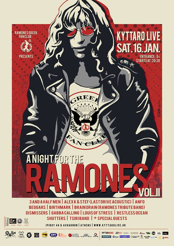 a Night for the RAMONES vol.2 !!!!