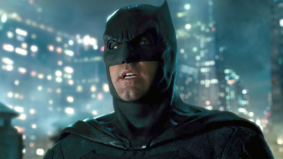 Previously Unseen Justice League Photo Shows Off Ben Affleck's Batman