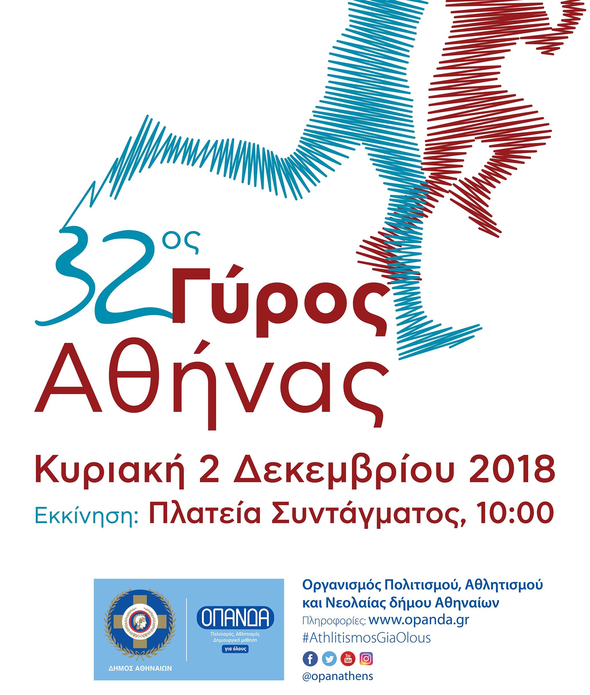 df1fbcd3510 Ανοίγουν οι εγγραφές του 32ου Γύρου της Αθήνας στις εξωτερικές ...