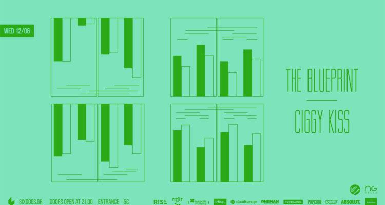 The Blueprint – Ciggy Kiss Live at Six Dogs, Τετάρτη 12/6