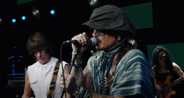 "Video για το""Isolation"" από  Jeff Beck και Johnny Depp"