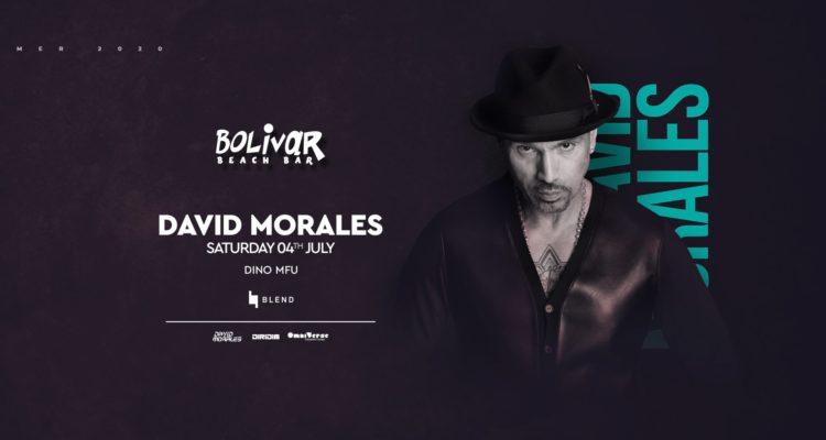 Ο David Morales έρχεται στο Bolivar Beach Bar | Σάββατο 4 Ιουλίου