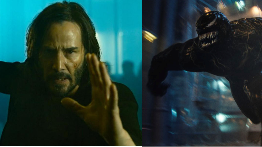 A Matrix 4 scene accidentally appears in Venom: Let There Be Carnage
